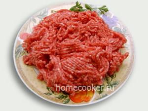 Блюда из фарша
