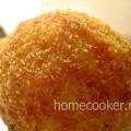 Цветные шарики из рисового пирога