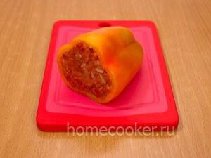 Фаршированный сырой перец