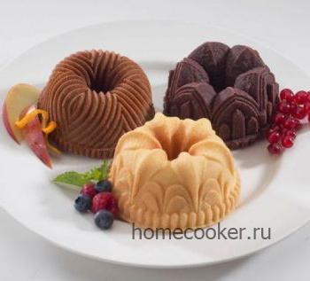 Фигурные пикантные пирожные