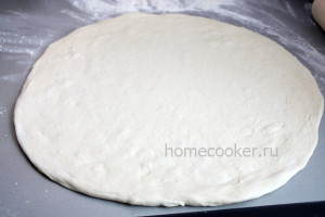 Готовая домашняя основа для пиццы