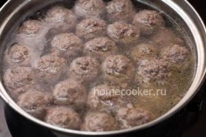 Gotovye frikadelki 300x200 Суп с фрикадельками