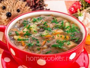 Gotovyj gribnoj sup 300x225 Грибной суп