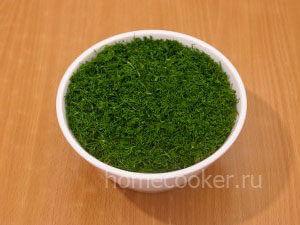 Готовый салат грибная поляна