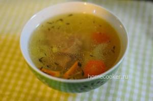 Готовый суп из баранины