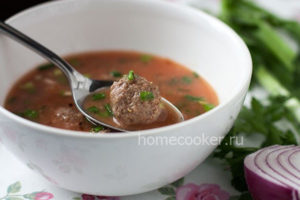 Gotovyj sup s frikadelkami 300x200 Суп с фрикадельками