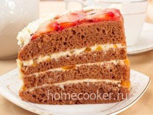 Готовый торт Сердце