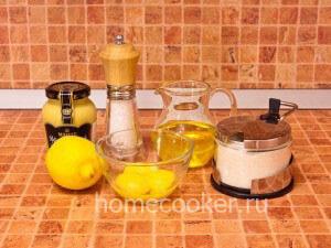 Игредиенты для домашнего майонеза