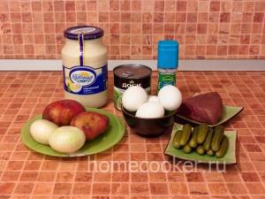 Ingredienty dlya klassicheskogo olive 300x225 Салат оливье