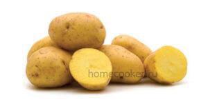 Из картошки