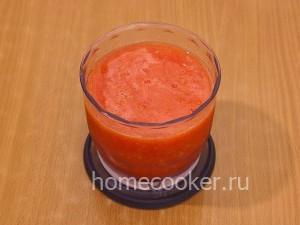 Измельченные помидоры