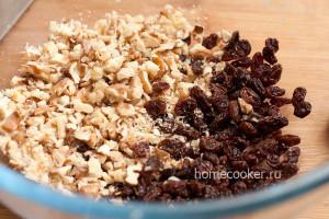 Изюм с грецкими орехами