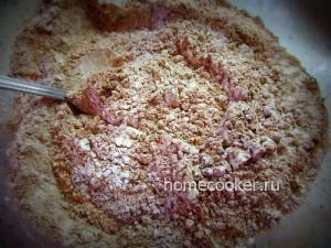 Какао, мука и сахарная пудра
