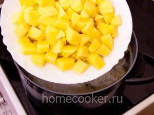 Картофель в бульон