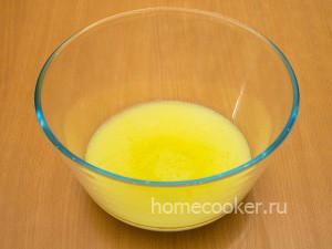 Кефир с маслом