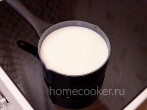 Кепятим молоко