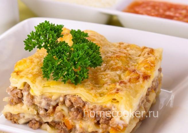 Лазанья — пошаговый рецепт с фото