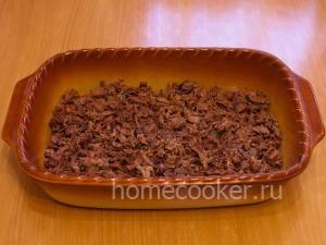 Мясо в форме