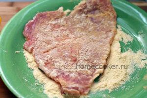 Мясо в панировке