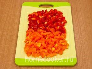 Narezannyj perets 300x225 Овощное рагу