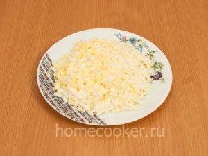 Натертые яйца