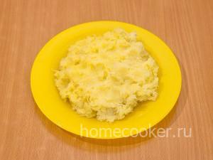Натертый картофель