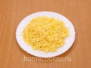 Натертый сыр