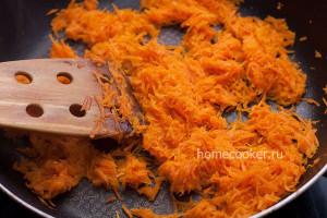 Ображенная морковь