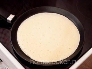 Pechem blin 300x225 Блины на молоке