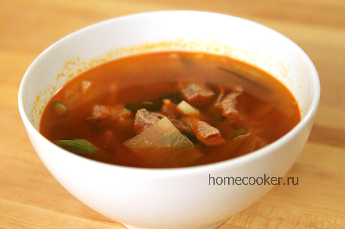 Пикантный говяжий суп