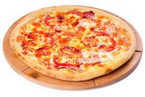Пицца без яиц