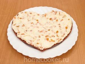 Propityvaem korzhi 300x225 Торт «Сердце»
