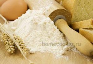 Рецепты из муки