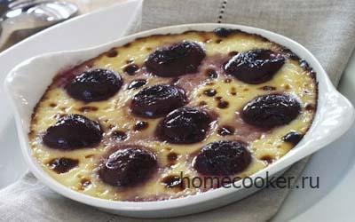 Рисовые пирожные с фруктами