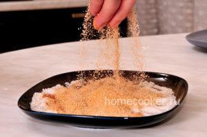 Сахар, корица, ванильный сахар