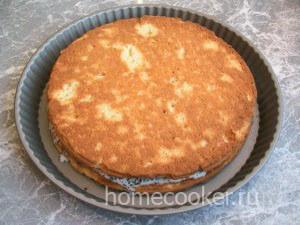 Слои сметанного торта