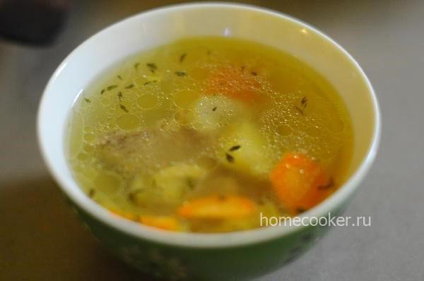 Суп из баранины