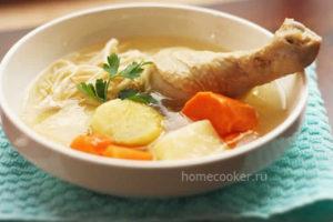 Супы из курицы - пошаговые рецепты с фото