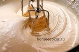 Тесто для шарлотки