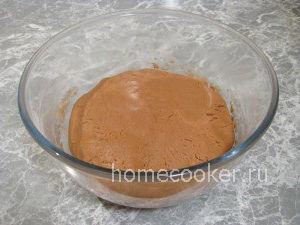 Тесто для шоколадного печенья