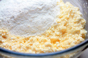 Тесто для сырников