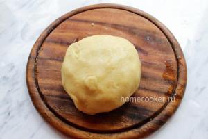 Тесто для творожного пирога