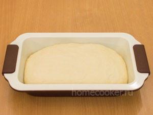 Testo v forme podnyalos 300x225 Домашний хлеб