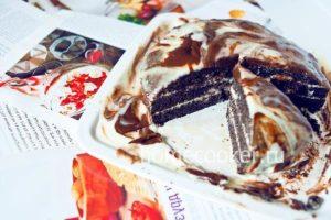 Ukrashaem tort shokoladom 300x200 Черемуховый торт