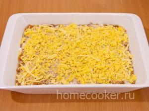 Второй слой сыра