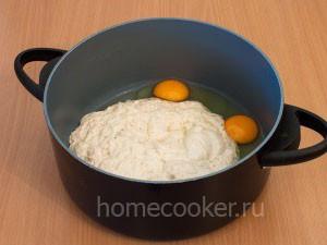 Яйца и опара