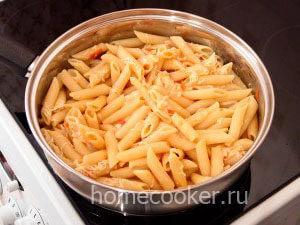 готовые макароны с сыром