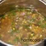 варить мясо с редькой и луком