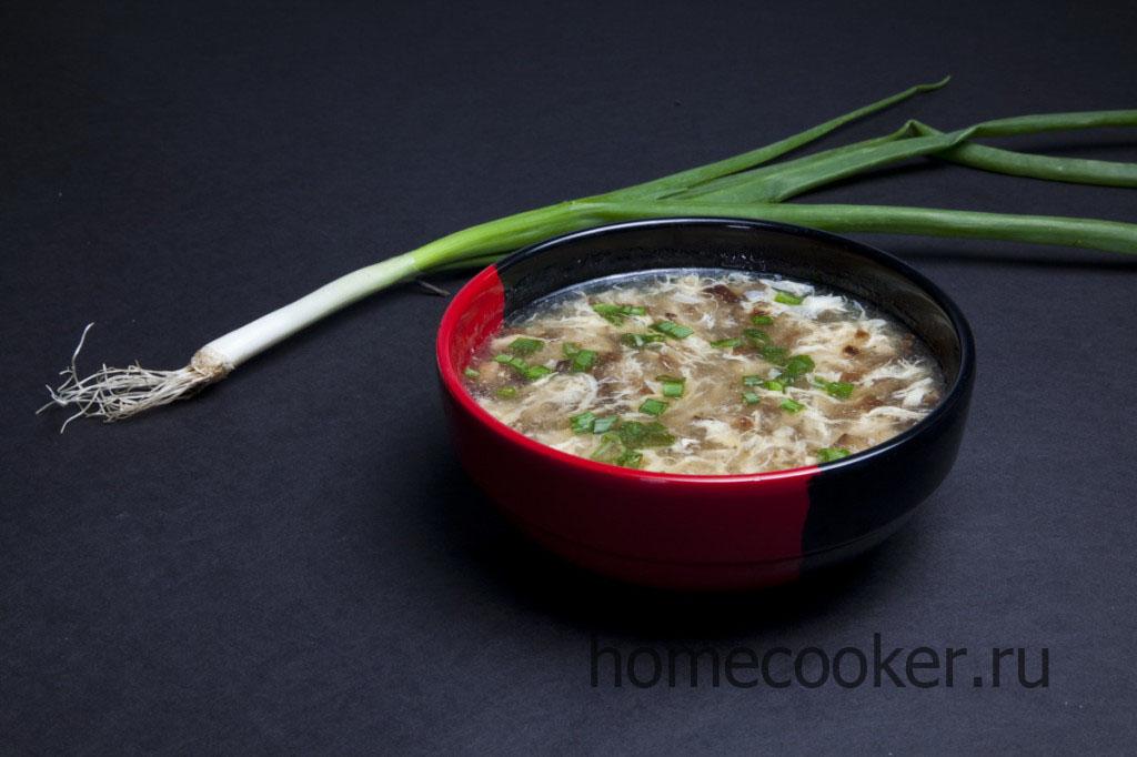 Суп из говяжьих ребрышек