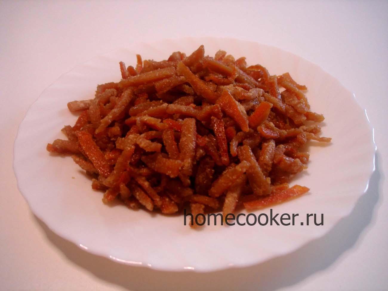 Засахаренные овощи в сиропе